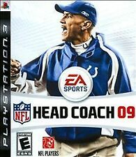 NFL Head Coach 09 (Sony Playstation 3, 2008) Brand New in packaging EA Sports