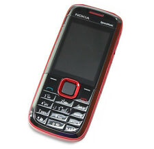 Nokia 5130 XpressMusic - Red (Unlocked) Cellular Phone  Free Shipping