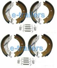 "TRAILER BRAKE SHOES 250 x 40 FITS KNOTT IFOR WILLIAMS BRIAN JAMES 10"" DRUM x2"