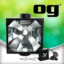 """og Vertical Lamp air cool hood 8"""" Hydroponic Grow Light for Grow Lab Tent Room.."""