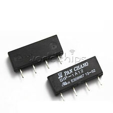 10PCS 12V Relay SIP-1A12 Reed Switch Relay 4PIN for PAN CHANG Relay WC