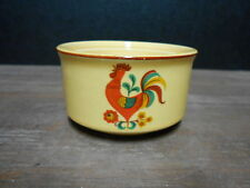 Sugar Bowl With No Lid Reveille Red Rooster Yellow Oatmeal Taylor Smith Taylor