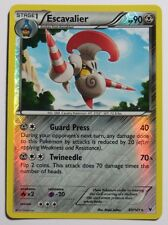 ESCAVALIER Rev HOLO - 80/101 BW Nobile VITTORIE-Rare Pokemon Card