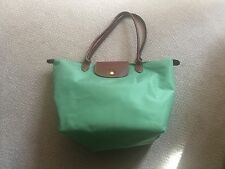 Longchamp Le Pliage Large Nylon Tote in Spring Green