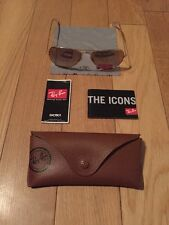 Ray Ban Aviator Sunglasses, RB 3025 001/3E, 58-14 2N, Gold/Pink, Italy, 58mm