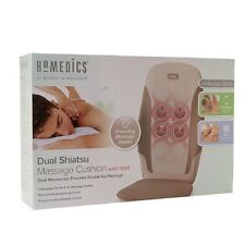 Homedics Kneading Shiatsu Massage Cushion with Heat, MCS-210H (NEW)