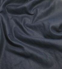 "RAW SILK NOIL Fabric NAVY BLUE 45"" by the yard"