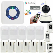 D29 IP Camera WIFI APP Wireless Smart Home/Office Security Alarm Burglar System