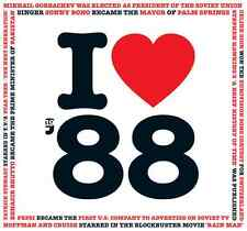 28th Birthday Anniversary Gift Card I Love 1988 Compilation CD Greetings Cards
