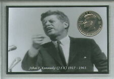 John F Kennedy JFK de Estados Unidos Usa Estados Unidos de America 35th Presidente moneda Set De Regalo