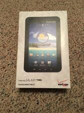 Samsung Galaxy Tab SCH-I800 Wi-Fi + 3G (Verizon) Tablet W/ TONS OF ACCESSORIES!!