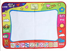 Children Aqua Doodle Drawing Toys 29*19 Painting Mat with 1 Water Drawing wc