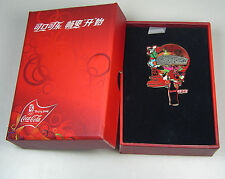 2008 Beijing Olympic Coca Cola Coke Sponsor 3D Pin Set