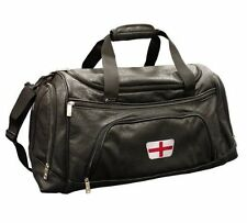 BRAND NEW LEATHERETTE ENGLAND CRESTED GOLF HOLDALL BY ASBRI