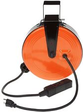 HDX Electric Heavy Duty Retractable Reel 3-Outlets 30 ft 10-Amp Extension Cord