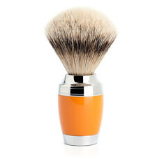 Muhle STYLO Butterscotch & Chrome Silvertip Badger Hair Shaving Brush