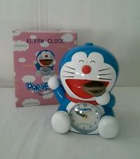 Doraemon Alarm Clock with Box Japan Cat Blue Japanese fujiko pro 2005