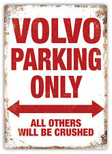 WTF | Volvo Parking Only | Metal Wall Sign Plaque Art | Amazon C30 V40