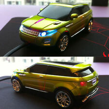UK 1600 DPI 3D Land Rover Range Evoque Racing Sport Car Usb Optical Gaming Mouse