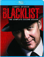 The Blacklist: Season 2 (Blu-ray Disc, 2015, 5-Discs w/Digital)new/sealed w/slip