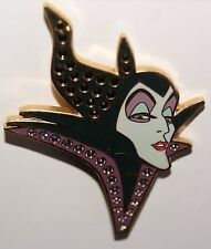 Disney Sleeping Beauty jeweled Pave Crystal Maleficent Dragon pin LE 500