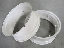 2 NEW WHEEL RIMS 12X28 6-LOOP FIT FORD TRACTOR  3300 3310 3400 3500 3600