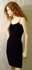 SPARKLY HEM Sleeveless SKIMPY Layered Net AMNESIA ORIGINAL Little Black Dress! S