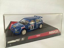 Ninco  Volkswagen MK4 Golf Slot Car VW GTI With Case 1999-2004 Motorsports 1:32