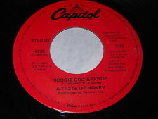A Taste Of Honey: Boogie Oogie Oogie / World Spin 45