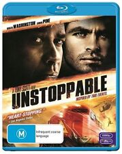 Unstoppable (Blu-ray, 2011) Movie, Like New