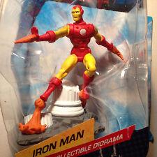 Marvel IronMan Diorama Collectible Action Figure 2.75 inch SuperHero