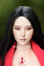 WONDERY-WLS 004. Elsa 1/6 Female Fan Bingbing Asian Head Sculpt W Movable Eyes