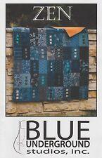 Zen Quilt Pattern, Blue Underground Studios, DIY Quilting by Amy Walsh, FQ