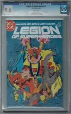 Legion of Superheroes #1 CGC 9.6 NM+ Wp DC Comics 1984 Keith Giffen Cover & Art