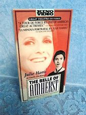 The Belle of Amherst starring Julie Harris - 1976 - VHS Video - FREE SHIPPING