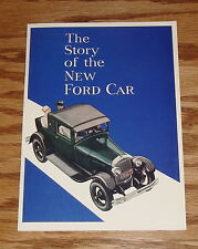 1928 Ford Model A Story of New Ford Car Sales Brochure 28