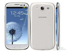 White Original Samsung Galaxy S3 III GT-I9300 16GB Unlocked Smartphone 8MP 4.8""