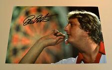 Eric Bristow Signed 12x8 Photo Genuine Autograph Darts Champion Memorabilia +COA