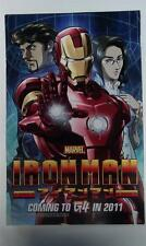 G4 IRON MAN ANIME TV SHOW SDCC EXCLUSIVE PROMO POSTER MARVEL IRONMAN 17x11