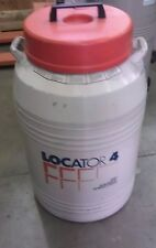 THERMOLYNE LOCATOR 4 CRYO BIOLOGICAL STORAGE NITROGEN TANK
