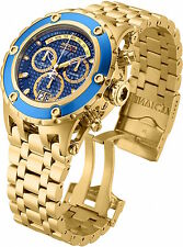 90113 Invicta Reserve 52mm Specialty Subaqua Swiss Chrono 18KT GP Bracelet Watch