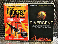 THE HUNGER GAMES MOCKINGJAY BY SUZANNE COLLINS & DIVERGENT BY VERONICA ROTH BOOK