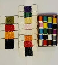 Lot 32 pcs of fly tying materials