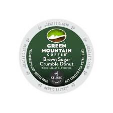 Green Mountain Brown Sugar Crumble Donut Coffee K-Cups For Keurig Brewers-96 Ct.
