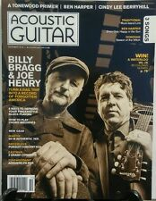 Acoustic Guitar Oct 2016 Billy Bragg & Joe Henry Ben Harper FREE SHIPPING sb