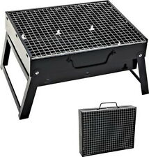 BBQ Tragbar Holzkohlegrill Standgrill Kohlegrill Outdoor Camping Grill
