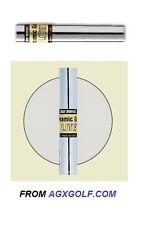 """TRUE TEMPER DYNAMIC GOLD LITE S300 IRON SHAFTS 41"""" .370 PARALLE TIP: STIFF FLEX"""