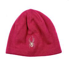 Spyder Kids Youth Girls Sparkle Bug Snow Ski Winter Beanie Hat W/llining New