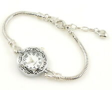 1pcs Charm Watch Bracelet Fits European Bead 20cm WP9