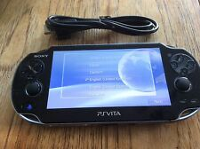 SONY PS VITA CONSOLE WIFI ONLY PCH-1004 PLAYSTATION PSVITA OLED WI-FI USED 3.55